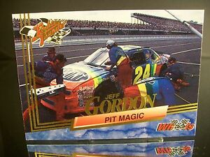 Rare Jeff Gordon Wheels Rookie Thunder 1993 Card #93 PIT MAGIC