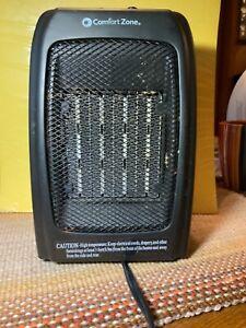 Comfort Zone Portable Ceramic Space Heater Model CZ442WM 1500 Watts