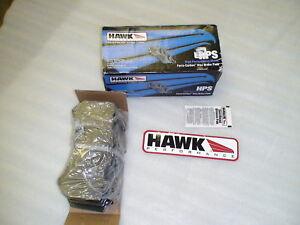 Set of Hawk Performance HPS front street brake pads for 09-20 GTR R35 CBA DBA