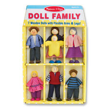 Wooden Family Doll Set