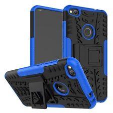 Etui Hybride 2 Pièces Extérieur Bleu pour Huawei P8 Lite 2017 Housse Etui Sac