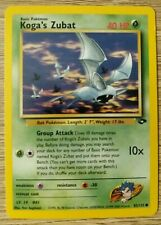 Pokemon Card Koga's Zubat 83/132 Gym Challenge Mint