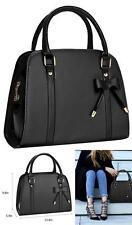 Women's Purse and Handbags Little Bow Leisure Top-Handle Bags Shoulder Bag Black