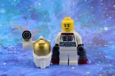 Lego Mini Figure City Space ASTRONAUT WITH SIDE LAMP from Set 60077 New