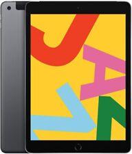 "Apple iPad 7 10.2"" 32GB Space Gray (WiFi + Cellular) Body Dent Minor Screen Flaw"