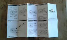 Usado - TISSOT - Manual instrucciones chronograpf = ETA G10.211 - For Collectors