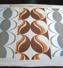 Vintage 1970s Abstract / Geometric Design Fabrics...