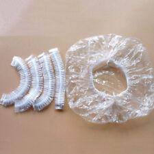 100pcs/pack Shower Bathing Cap Hair Salon Shower Caps Bathroom Products
