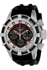 New Mens Invicta 22146 Reserve Bolt Swiss Chronograph Silicone Strap Watch