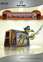 Best of Indie Games/TV Manager 2 (2011, DVD-Box) neu u. ovp/PC