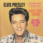 """ELVIS PRESLEY Good Luck Charm PICTURE SLEEVE RED VINYL 7"""" 45 NEW + jukebox strip"""