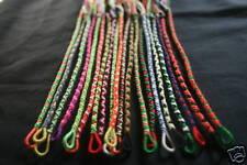 Lot de 5 Bracelets Brésiliens avec anneau (15-16 cm)
