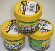 Berkley Powerbait GARLIC SCENT Power Eggs 3 pk LemonLime FEGLL *NEW* ice fishing