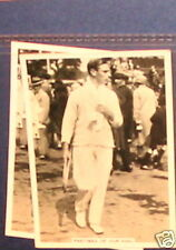 #196 Pastimes of our king lawn tennis sport card