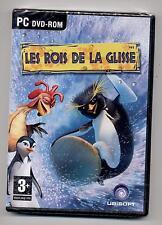 NEUF JEU PC DVD ROM LES ROIS DE LA GLISSE pour Windows JEU ET MANUEL EN FRANCAIS