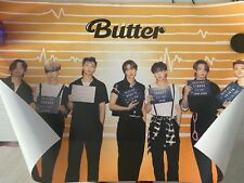BTS  official  special limited edition poster Butter set