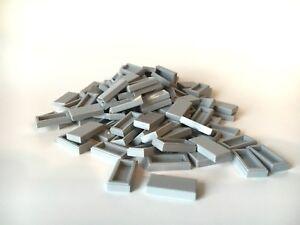 LEGO 2 x Fliesen Kachel Fliese halb rund 1x5 braun NEUWARE