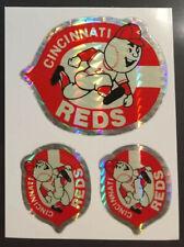 Cincinnati Reds MLB Baseball Color Logo Sports Decal Sticker - FREE SHIPPING