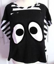 Hyoma japonés Harajuku Caftán Estilo Túnica Blusa Suelta Top 16/18 Camiseta-Bnwt