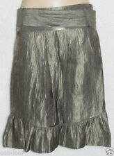 H&M Party Patternless Straight, Pencil Skirts for Women