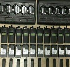 Lot of 10 MOTOROLA XTS1500 VHF 136-174mhz P25 Digital Radios H66KDD9PW5BN