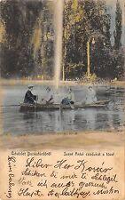 B76825 Romania Buzias Szent Antal Lacel boat Animated 1905  buziasfurdo timis