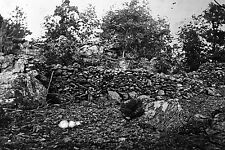 New 5x7 Civil War Photo: Breastworks on Little Round Top, Battle of Gettysburg