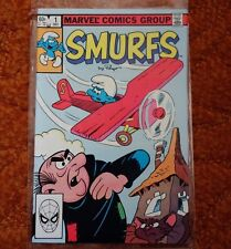 "Marvel Comics Smurfs #1 (1982) ""The Smurf Plane"""