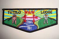 OA TUTELO LODGE 161 BLUE RIDGE MOUNTAINS COUNCIL SCOUT PATCH FINE DETAIL FLAP