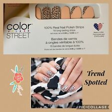 Retired Color Street Nail Strips- Trend spotting - Free Shipping W No Tracking