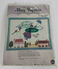 New listing Walt Disney Mary Poppins Fly Crewel Needlepoint Kit Paragon Needlecraft