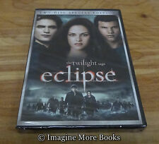 NEW/SEALED DVD: Eclipse (2-Disc, Special Edition) ~ Third Movie in Twilight Saga