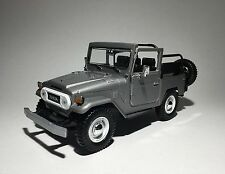 1 24 G Scale Toyota Land Cruiser Fj40 Open Back Red Motormax Diecast Model 79330
