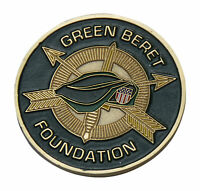 US Army Green Beret Foundation Challenge Coin