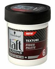 Schwarzkopf Fiber Paste Carbon Force Semi-Matt Finish Texturing Hair Styling Gel