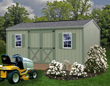 Best Barns 10' x 12' Cypress Wood Shed Kit