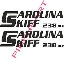 carolina 238 DLV skiff Boat Decals Graphics Sticker Decal Stickers  USA