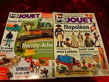 lot 2livres VIE DU JOUET =napoléon ,gares ,spirou etc.