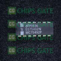 6PCS DS75491N DS75491 MOS-to-LED Digit Driver Quad Segment Driver