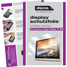 2x dipos Lenovo Yoga Tablet 10 HD+ Protector de Pantalla transparente