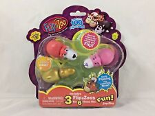 FlipaZoo - Mini Figures - Collectibles - 3 pack - Series 1 - 2016 - #4 - NEW