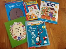 New Preschool, Kindergarten Lot of 5 Books