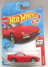 2020 HOT WHEELS '89 PORSCHE 944 TURBO RED DIE-CAST 47/250 1/5 coupe 951 S2 crsd