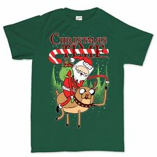 Adventure At Christmas Time Xmas Gift New Present Stocking T shirt Tee All Sizes