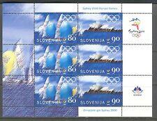 SYDNEY OLYMPIC GAMES, OPERA HOUSE ON SLOVENIA 2000 Scott 422a SHEET, MNH
