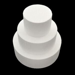 """Cake Dummey Polystyrene Foam Mould Styrofoam DIY 5"""" Straight"""