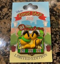 Pluto Disney Donut Shop Pin Le 3000 Parks Pin Of The Month 2018 November Parks
