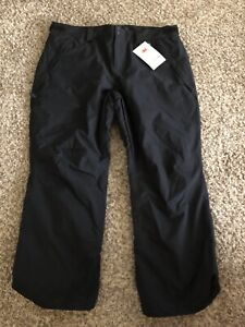 New W/tags - Oakley Mens XXL Blackout 10K/2L Insulated Ski Pants