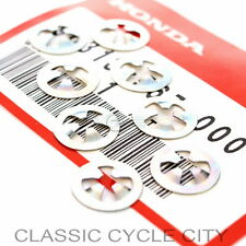 Honda CB 1000C Custom Seitendeckel Emblem Clips Set Side Cover Nut Speed Kit