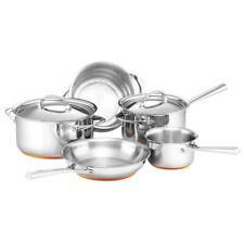 5pc Essteele Per Vita Stainless Steel Saucepan/Frypan Cookware Set Induction SL